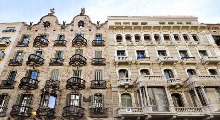 Дом Калвет Гауди Барселона
