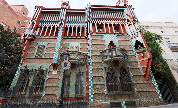 Дом Висенс Гауди Барселона