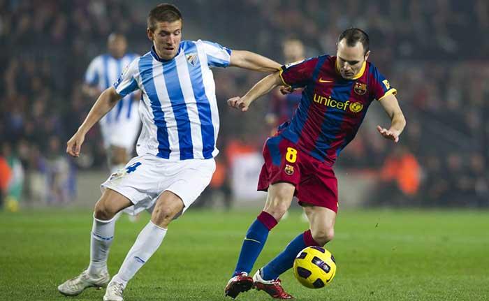 ФК Барселона Малага 2014