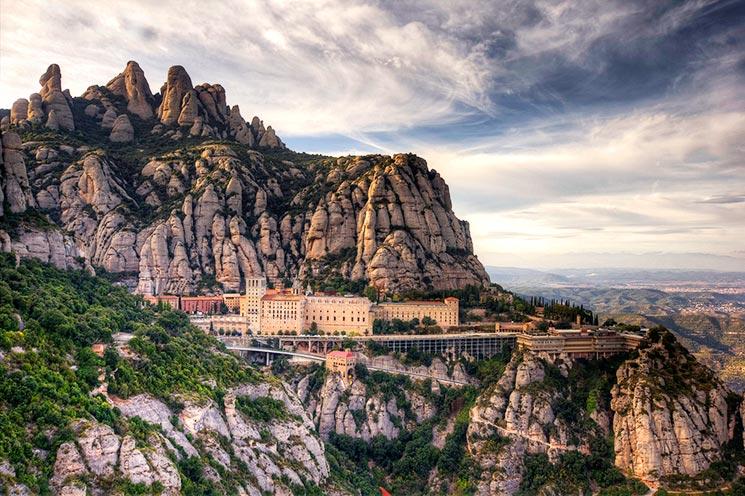 Гора Монсеррат - Барселона самостоятельно