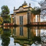Пруд Парк Лабиринт Орта в Барселоне