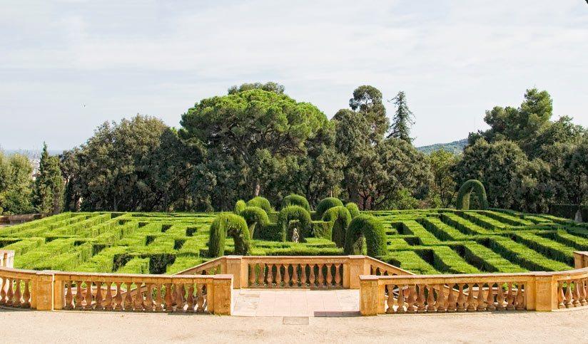 Парк Лабиринт Орта в Барселоне