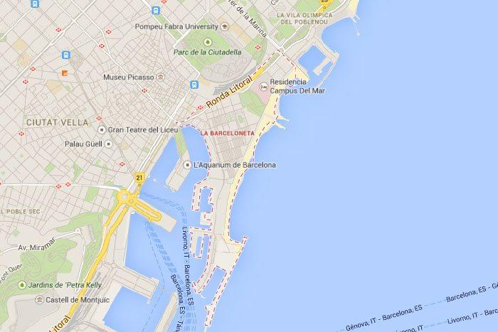 Район Барселонета Барселона