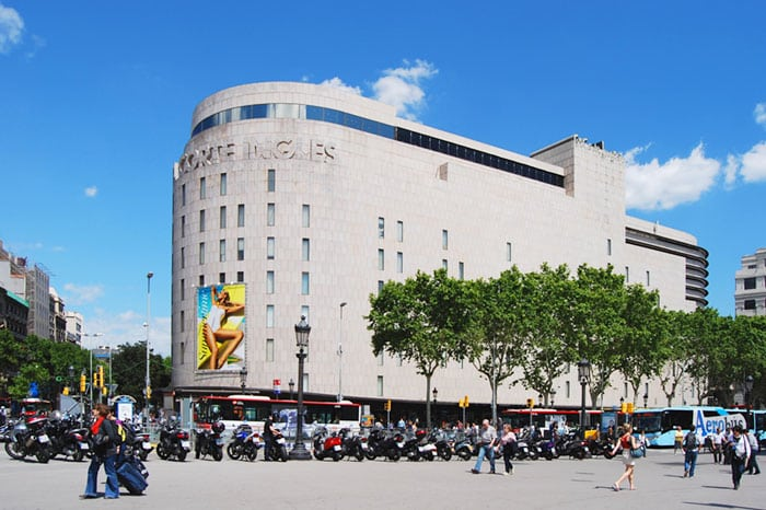 El Corete Ingles Площадь Каталонии Барселона