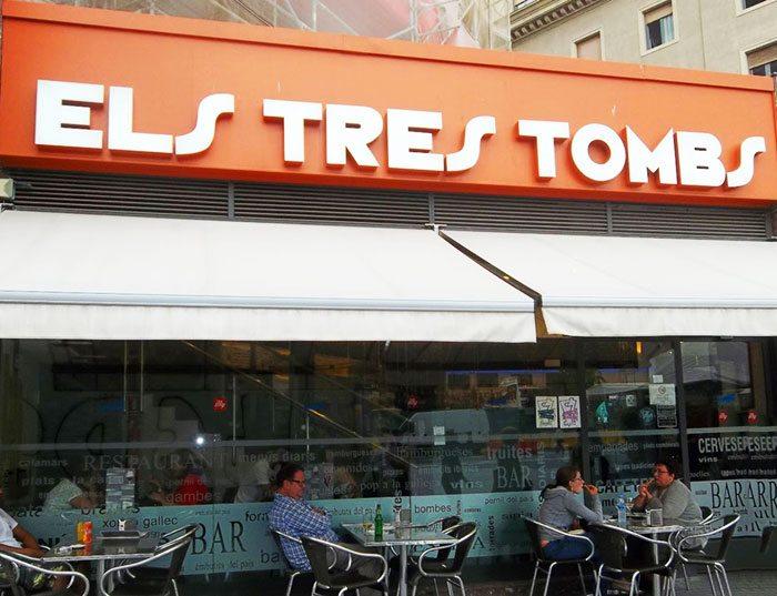 Ресторан Els Tres Tombs