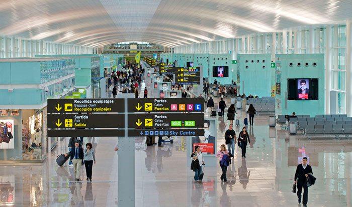 Tax Free аэропорт Барселоны Эль Прат