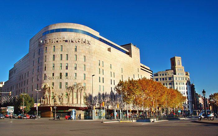 Торговые центры Барселоны El Corete Ingles