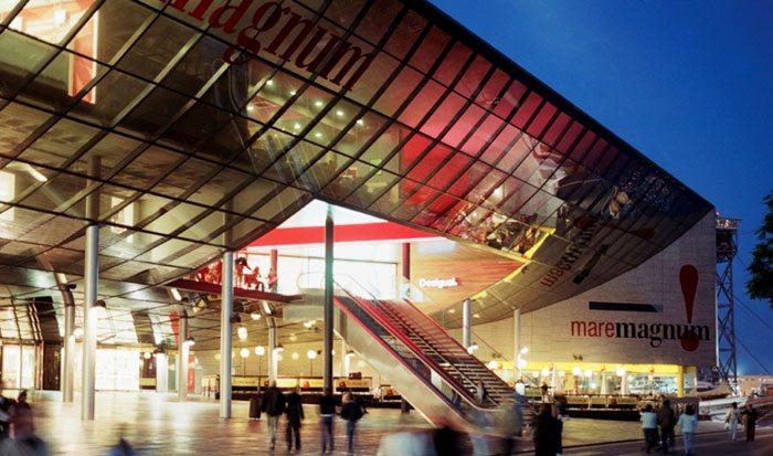 Торговые центры Барселоны Maremagnum