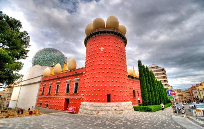 Театр музей Сальвадора Дали в Фигерасе - Барселона самостоятельно