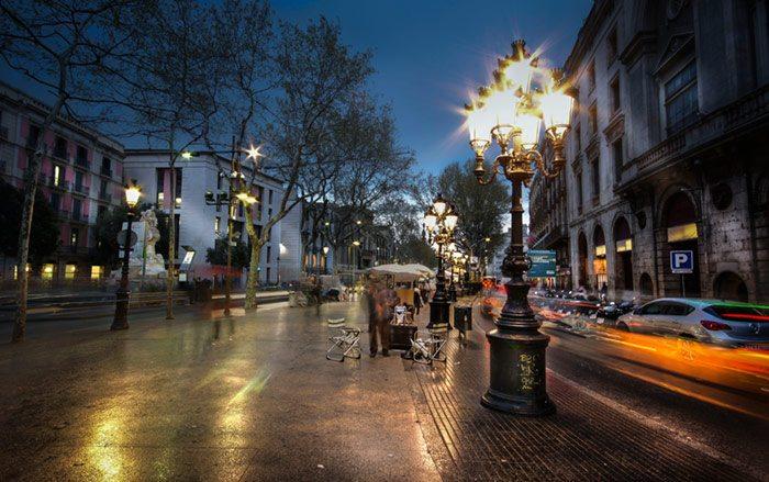 Ла Рамбла Барселона