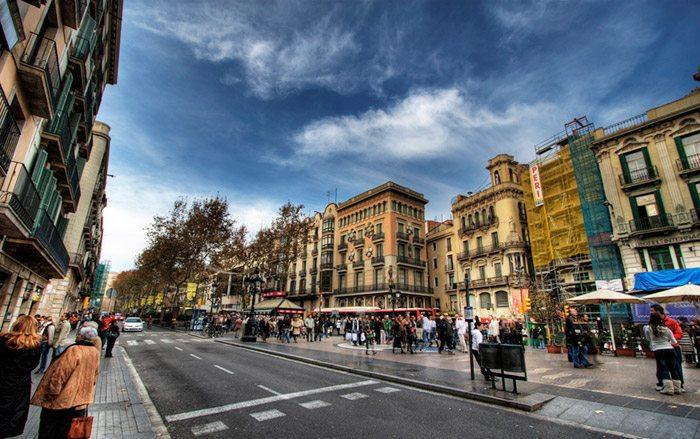 Рамблас Барселона