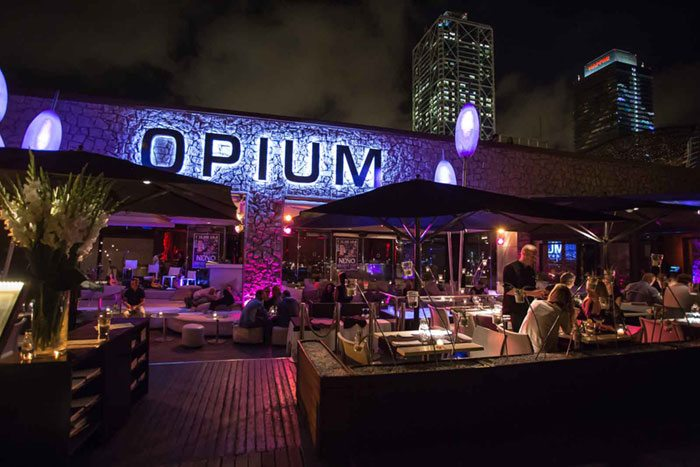 ночная жизнь Барселоны Opium Mar Barcelona