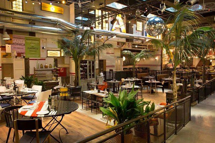 Где поесть в Барселоне - ресторан Ultramarinos