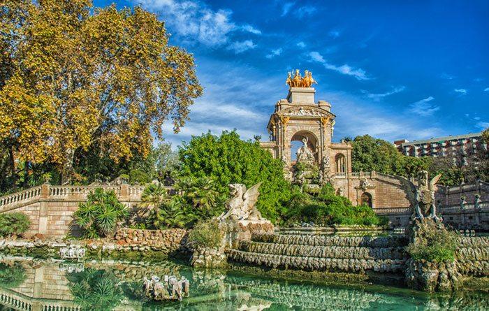 Парк Гуэль, Парки Барселоны