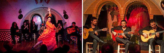 Фламенко в Барселоне в Таблао Кордобес