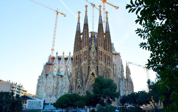 Саграда Фамилия, Главные достопримечательности Барселоны