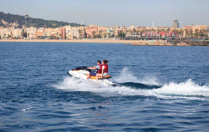 Гидроцикл (Jet Ski) в Барселоне