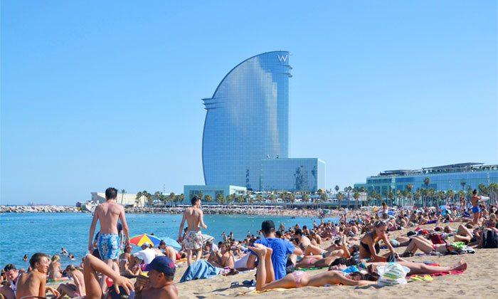 Пляжи Барселоны - Пляж Барселонета
