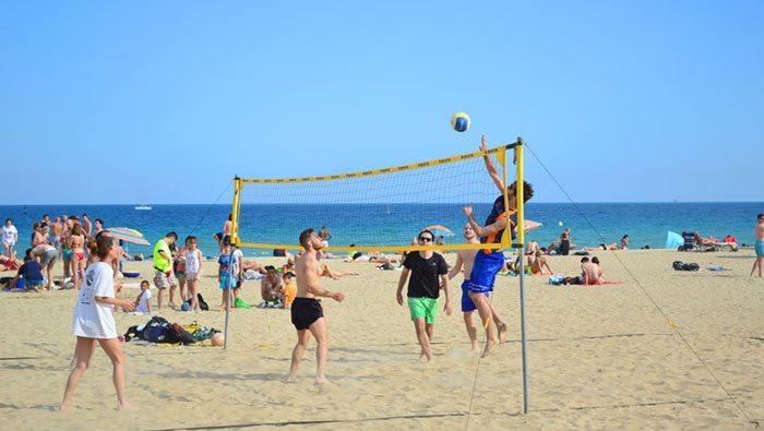 Пляжи Барселоны - Пляж Нова Икариа