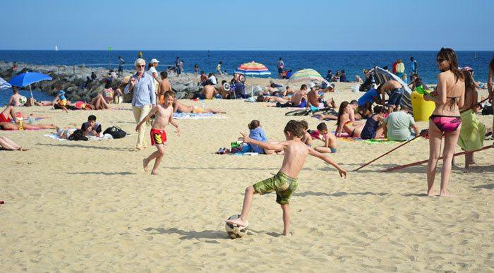 Пляжи Барселоны - Пляж Богатель