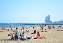 Пляжи Барселоны - Пляж Соморростро