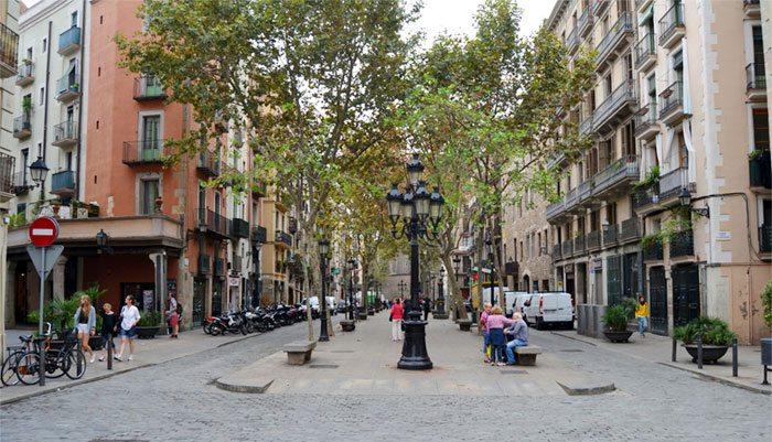 Passeig de Born в Барселоне