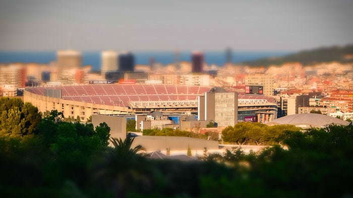 Стадион Камп Ноу в Барселоне - Путеводитель Барселона ТМ