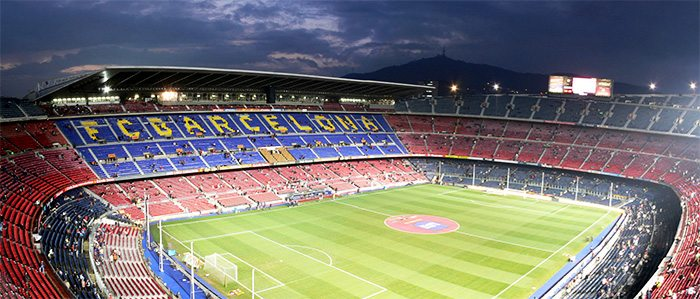 Стадион Камп Ноу в Барселоне - Путеводитель Барселона ТМ Стадион Барселоны Вместимость