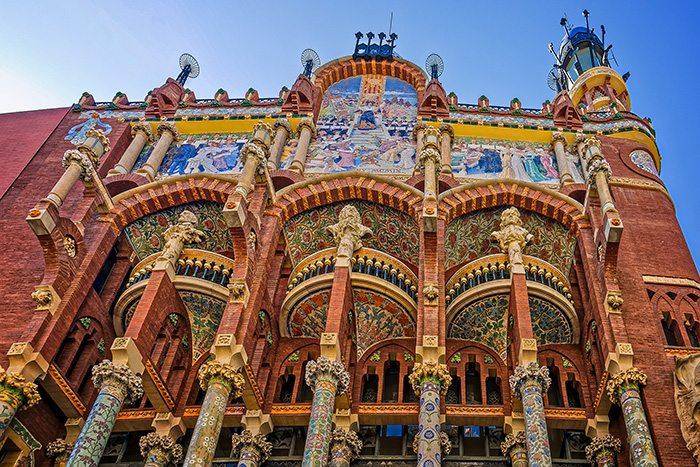 Барселона за два дня. Дворец каталонской музыки.