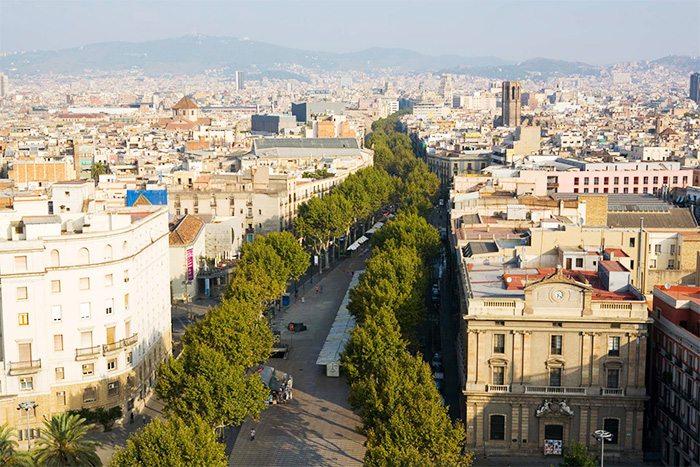 Барселона за три дня - Лас Рамблас