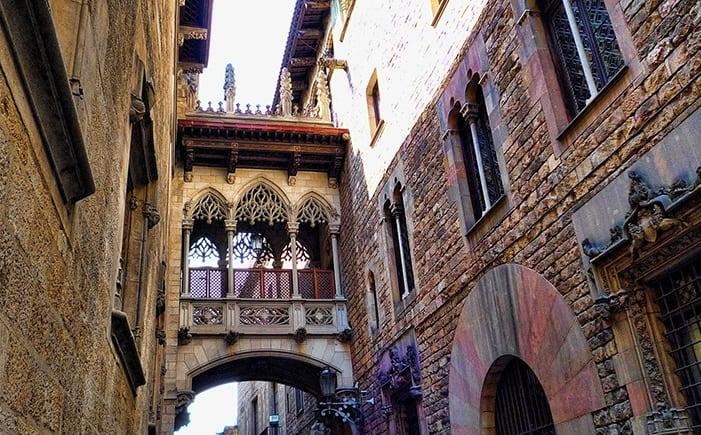 Барселона за три дня - Готический квартал
