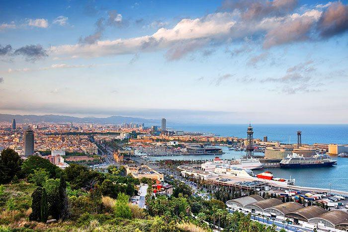 Montjuic - Смотровые площадки Барселоны