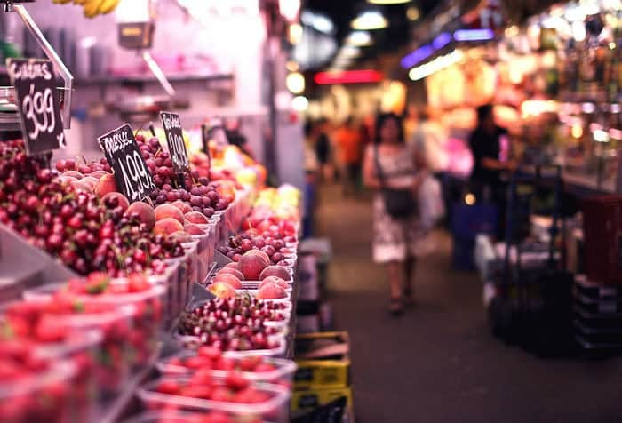 Дешево в Барселону: питание
