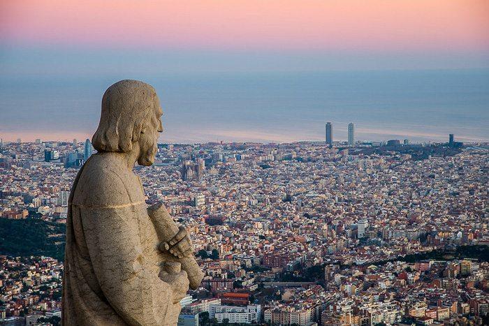 Тибидабо - Обзорные площадки Барселоны