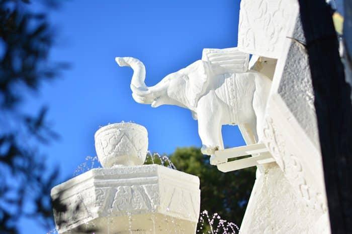 Дом Сальвадора Дали: внутренний двор
