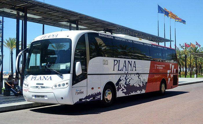 Автобус из аэропорта в Таррагону