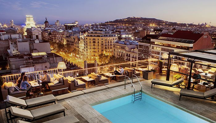 La Dolce Vitae - крыши Барселоны