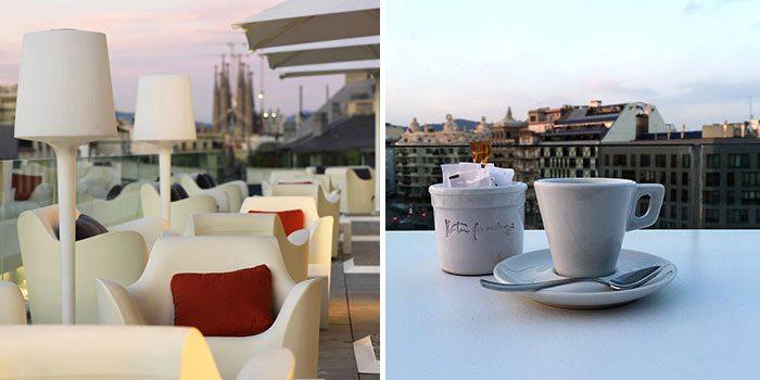 С летней террасы Al Aire, расположенной в известном отеле Condes