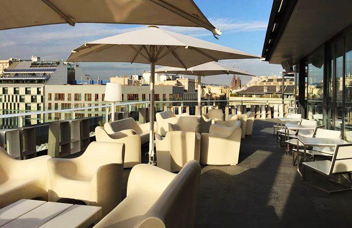 Крыши Барселоны - терраса Al Aire
