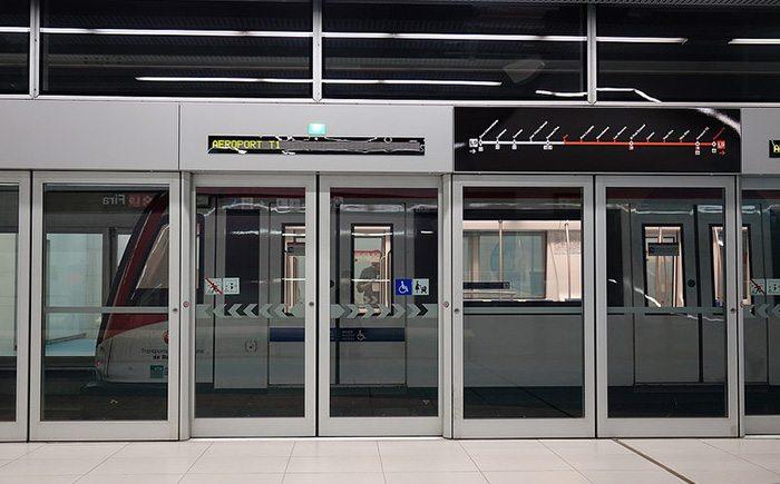Метро в аэропорту Барселоны