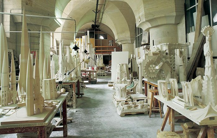 Музеи Барселоны: Музей Саграда Фамилия