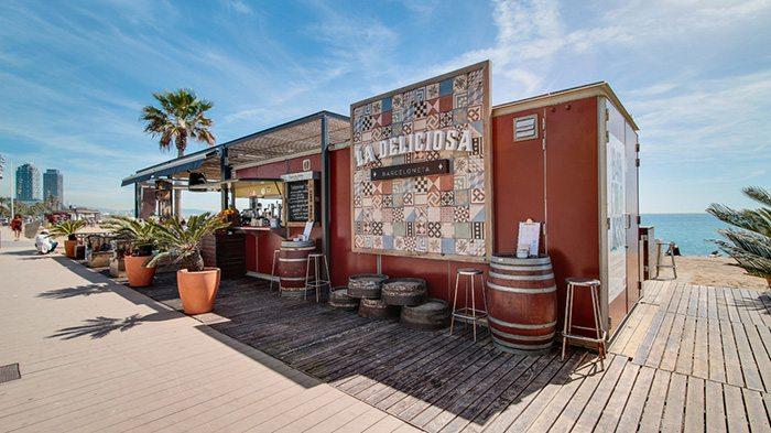 Чирингито La Deliciosa - пляжный бар Барселоны