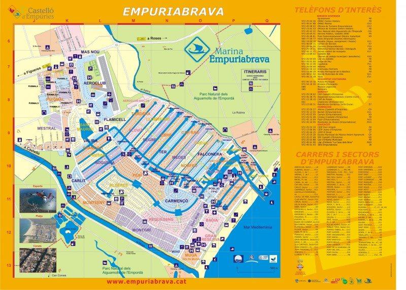 Карта Эмпуриабрава