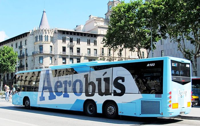 Как добраться из Барселоны в аэропорт на Aerobus