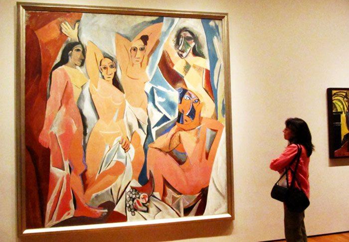 Картина Пикассо «Авиньонские девицы»