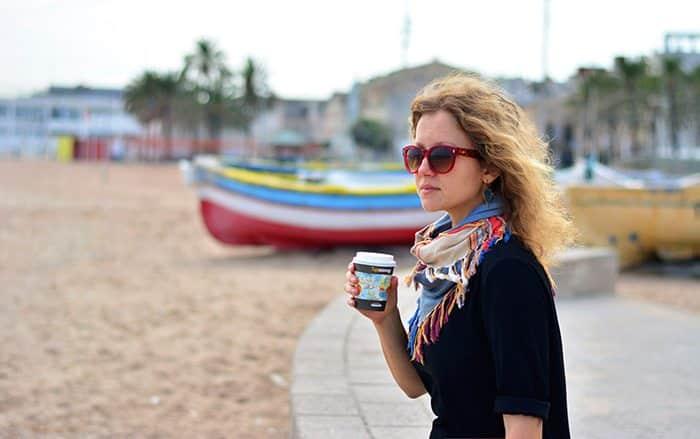 Наташа Пивцаева - Жизнь в Барселоне