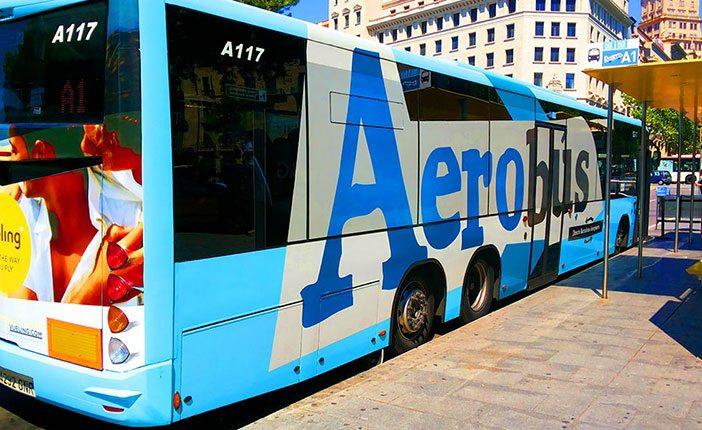 Автобусы Aerobus: из аэропорта Барселоны в центр города