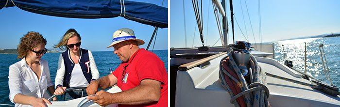 Морские прогулки на яхте Коста Дорада