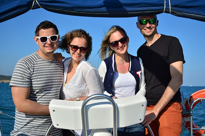 Морские прогулки на яхте вдоль Коста Дорада
