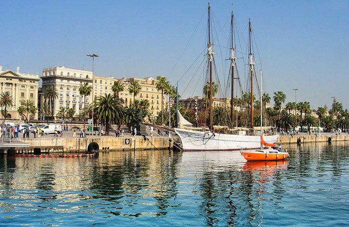 Старый Порт Барселоны
